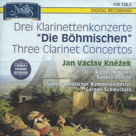 Jan Václav Knezek: Drei Klarinettenkonzerte 'Die Böhmischen' (Novalis)