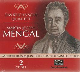Martin Jospeh Mengal: Sämtliche Bläserquintette (2CD, NCA Classical)