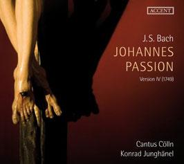 Johann Sebastian Bach: Johannes Passion, Version IV (1749) (2CD, Accent)