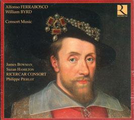 William Byrd, Alfonso Ferrabosco: Consort Music (2CD, Ricercar)