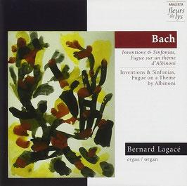 Johann Sebastian Bach: Inventions & Sinfonias, Fugue sur un thème d'Albinoni (Fleurs de Lys)