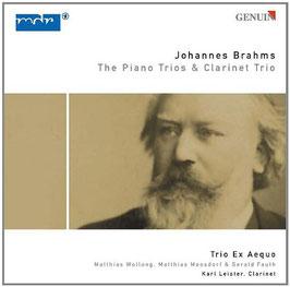 Johannes Brahms: The Piano Trios & Clarinet Trio (2CD, Genuin)