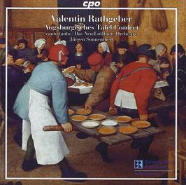 Valentin Rathgeber: Augsburgisches Tafel-Confect (CPO)