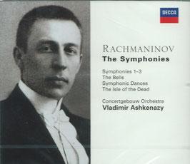 Sergei Rachmaninoff: Symphonies 1-3, The Bells, Symphonic Dances, The isle of the Dead (3CD, Decca)