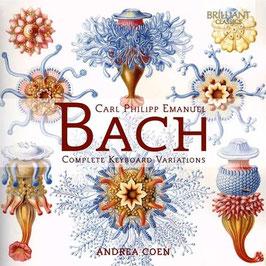 Carl Philipp Emanuel Bach: Complete Keybaord Variations (2CD, Brilliant)
