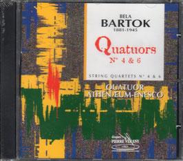 Béla Bartók: Quatuors 4 & 6 (Pierre Verany)