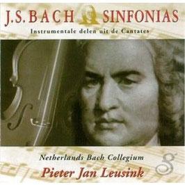 Johann Sebastian Bach: Sinfonias, Instrumentale delen uit de Cantates