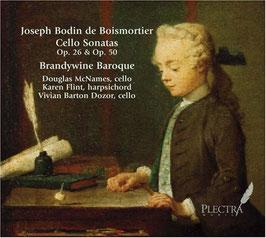 Joseph Bodin de Boismortier: Cello Sonatas Op. 26 & Op. 50 (Plectra)
