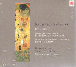 Richard Strauss: Don Juan, Waltz Sequenzen from Der Rosenkavalier, Four Symphonic Interludes from Intermezzo (Berlin)