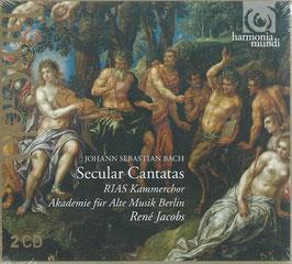 Johann Sebastian Bach: Secular Cantatas (2CD, Harmonia Mundi)