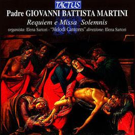 Giovanni Battista Martini: Requiem e Missa Solemnis (Tactus)