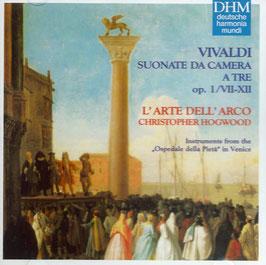 Antonio Vivaldi: Suonate da camera a tre op. 1/VII-XII (Deutsche Harmonia Mundi)