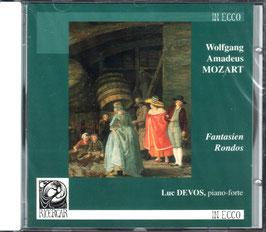 Wolfgang Amadeus Mozart: Fantasien, Rondos (Ricercar)
