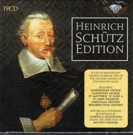 Heinrich Schütz: Heinrich Schütz Edition (19CD, Brilliant)