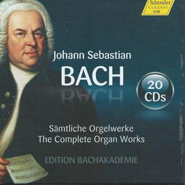 Johann Sebastian Bach: The Complete Organ Works, Edition Bachakademie (20CD, Hänssler)
