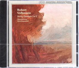 Robert Volkmann: String Quartets 2 & 5 (CPO)