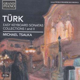 Daniel Gottlob Türk: Easy Keybaord Sonatas, Collections I and II (2CD, Grand Piano)