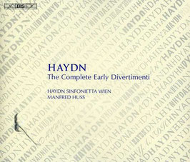 Joseph Haydn: The Complete Early Divertimenti and Feldparthien (5CD, BIS)