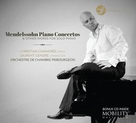 Felix Mendelssohn-Bartholdy: Piano Concertos & other Works for Solo Piano (2CD, Fondamento)