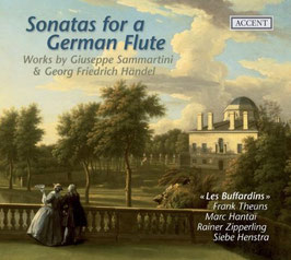 Sonatas for a German Flute, Works by Giuseppe Sammartini & George Friedrich Händel (Accent)