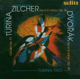 Joaquin Turina: Circulo Op. 91, Hermann Zilcher: Trio in E minor, Op. 56, Antonin Dvorak: Trio in E minor Op. 90 (Audite)