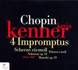 Frédéric Chopin: 4 Impromptus, Scherzo cis-moll, Polonez c-moll, Nokturny op. 32, Mazurki op. 59 (NIFC)