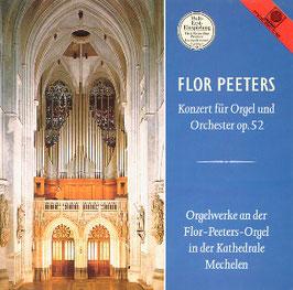 Flor Peeters: Konzert für Orgel und Orchester op. 52, Orgelwerke an der Flor-Peeters-Orgel in der Kathedrale Mechelen (Motette)