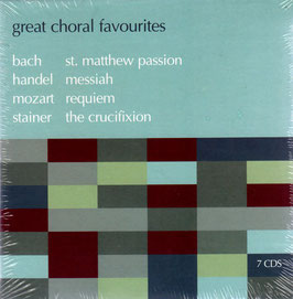 Great Choral Favourites: Bach, Handel, Mozart, Stainer (7CD, ASV)