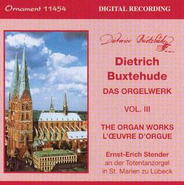 Dieterich Buxtehude: Das Orgelwerk Vol III (Ornament Records)