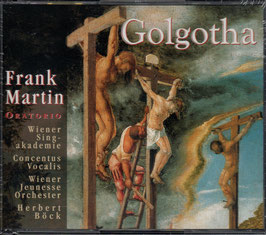 Frank Martin: Golgotha (2CD, Hänssler)