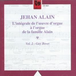 Jehan Alain: L'intégrale de l'oeuvre d'orgue, vol. 2 (Gallo)