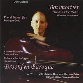 Joseph Bodin de Boismortier: Sonatas for Cello with other instruments (Quill Classics)