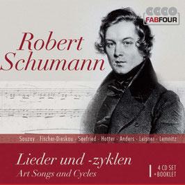 Robert Schumann: Lieder und -zyklen (4CD, FabFour)
