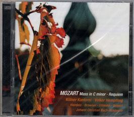 Wolfgang Amadeus Mozart: Mass in C minor, Requiem (2CD, Avi)