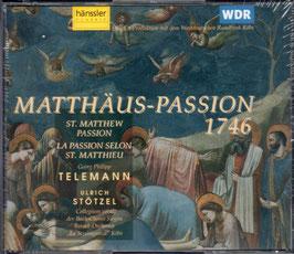 Georg Philipp Telemann: Matthäuspassion 1746 (2CD, Hänssler)
