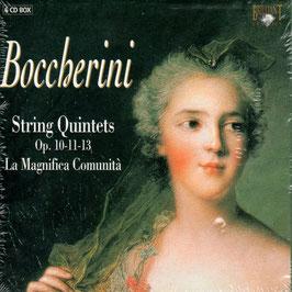 Luigi Boccherini: String Quintets Op. 10, 11, 13 (6CD, Brilliant)