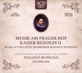 Musik am Prager Hof Kaiser Rudolfs II: De Monte, Regnart, Luython (2CD, Ars Musici)