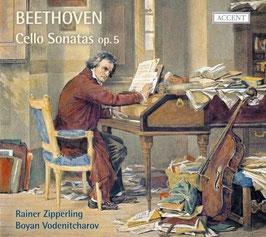 Ludwig van Beethoven: Cello Sonatas op. 5 (Accent)