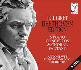 Ludwig van Beethoven: 5 Piano Concertos & Choral Fantasy (3CD, IBA)