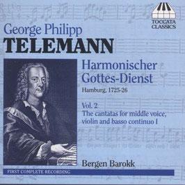 Georg Philipp Telemann: Harmonischer Gottes-Dienst volume 2 (Toccata)