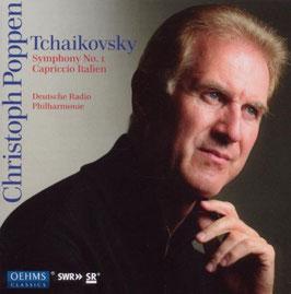 Pyotr Ilyich Tchaikovksy: Symphonies 1-6, Capriccio Italien, Ouverture 1812, Slavonic March, Hamlet Ouverture-Fantasia (5x CD, Oehms)