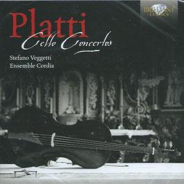 Giovanni Benedetto Platti: Cello Concertos (Brilliant)