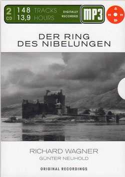 Richard Wagner: Der Ring des Nibelungen (2MP3 CD-Rom, Membran)