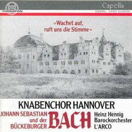 Johann Christoph Friedrich Bach, Johann Sebastian Bach: Wachet auf ruft uns die Stimme (Thorofon)
