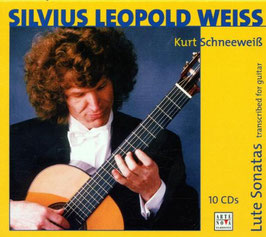 Sylvius Leopold Weiss: Lute Sonatas transcribed for guitar (10CD, Arte Nova)