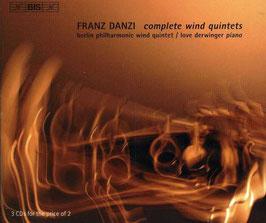 Franz Danzi: Complete Wind Quintets (3CD, BIS)