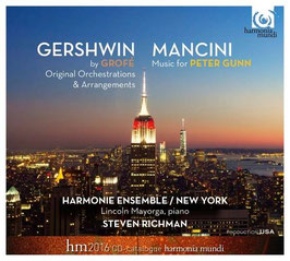 George Gershwin: Original Orchestrations & Arrangements by Grofé, Henry Mancini: Music For Peter Gunn (2CD, Harmonia Mundi)