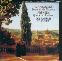 Anton Arensky: Quartet in A minor, Pyotr Tchaikovsky: Souvenir de Florence (Hyperion Helios)