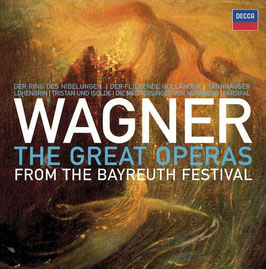 Richard Wagner: The Great Operas from the Bayreuth Festival (33CD, Decca)