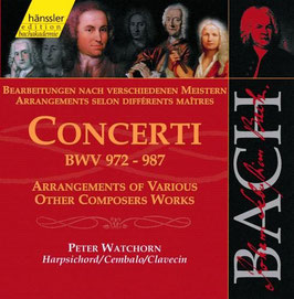 Johann Sebastian Bach: Concerti, Arrangements of Various Other Composers Work (2CD, Hänssler)